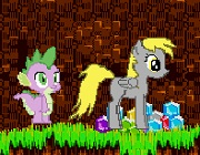 Pony collects crystals
