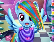 Rainbow Dash hairstyles