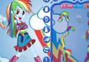 Dress up Rainbow Dash