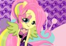 Fluttershy Rock Star